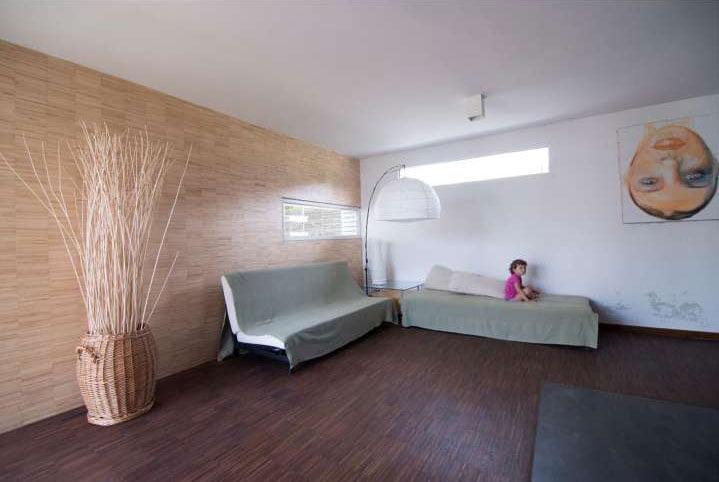 the comfy bedroom