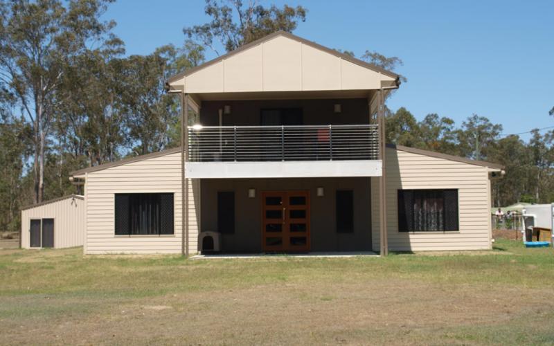 Lovely Country Steel Kit Villa W Verandah Amp Balcony Hq