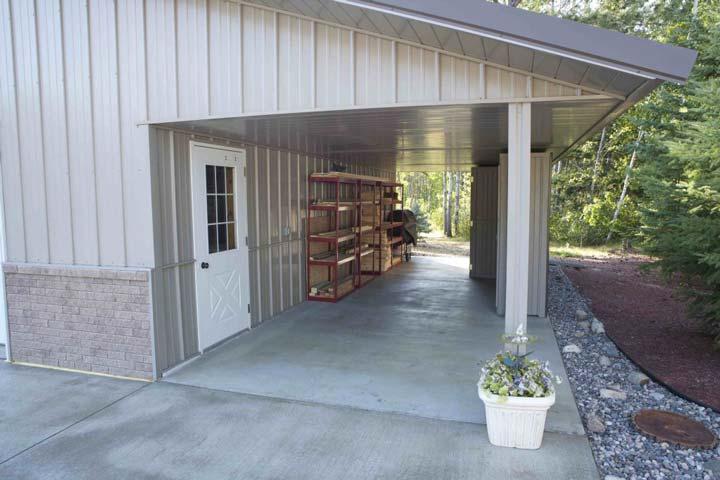 Practical outdoor flooring.