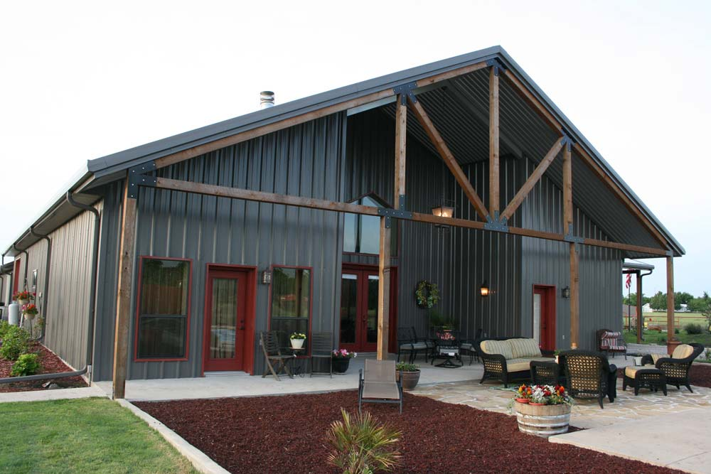 Metal building homes tyler tx
