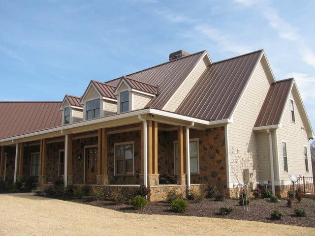 Amazingly built home with ceramic imitation
