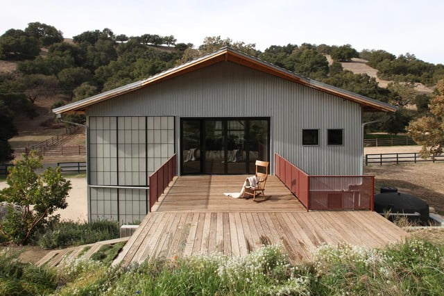 Picture of metal buildings turned into homes joy studio for Metal buildings into homes