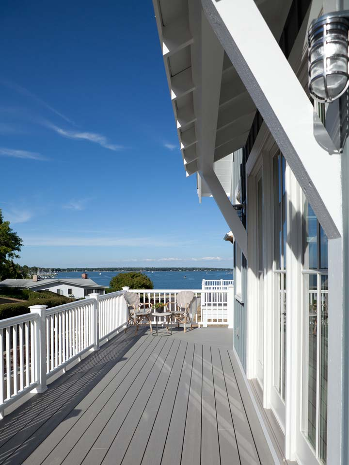Breathtaking views all around from the Sun Deck