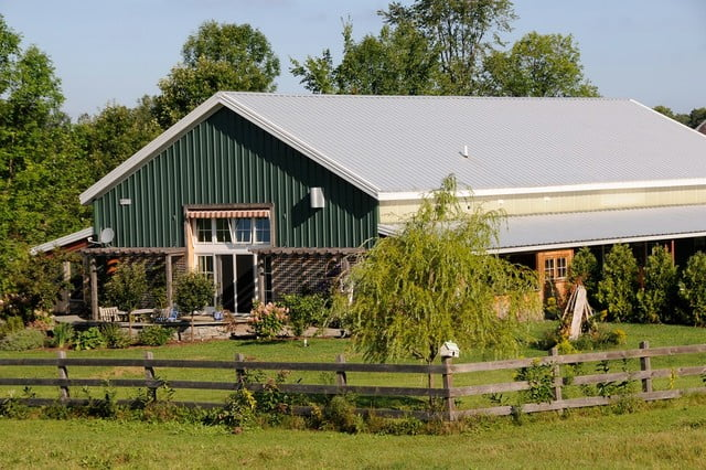 American classics metal barndominium w awesome interior for Steel home plans designs