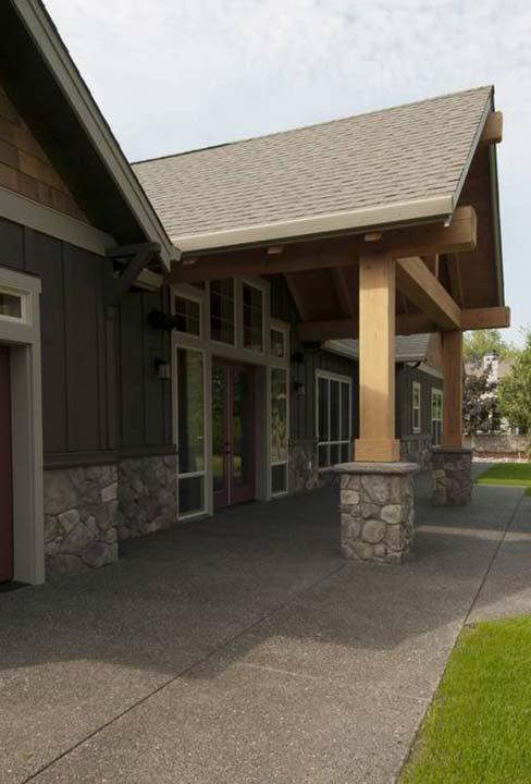 Cobblestones and Hardwood Panels