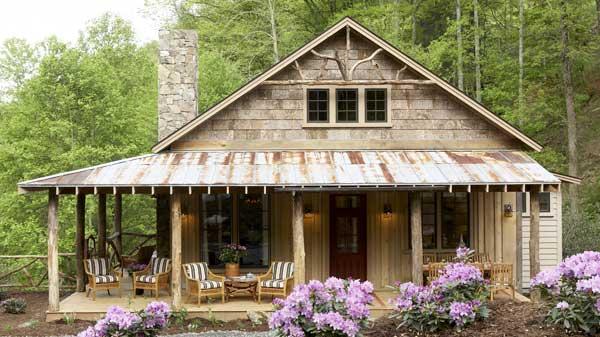 The homey facade