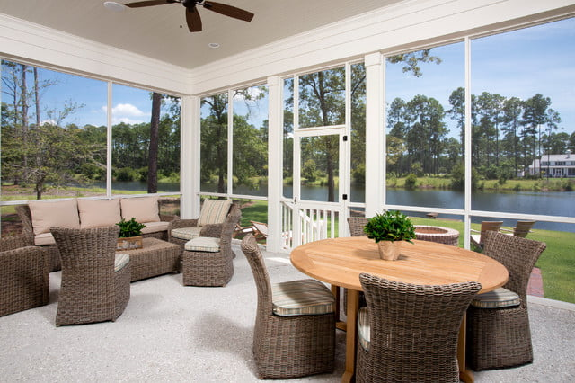 The view outside from the property through its beautiful windows never fails to impress!