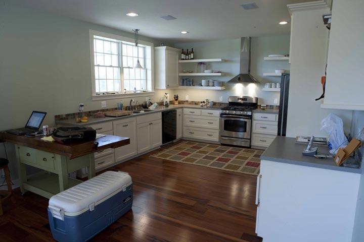 A tastefully designed kitchen