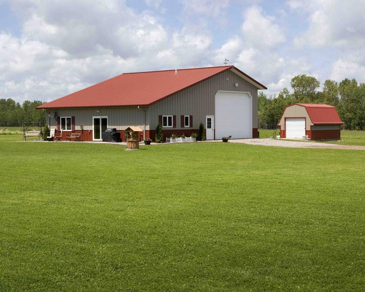 fantastic house plans detached garage. Farm style home and Barn like garage Fantastic Metal Building Home w  Detached Garage 10 HQ Pictures