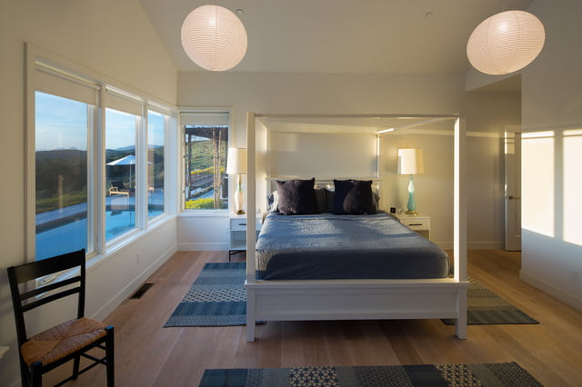 Contemporary bed room structure