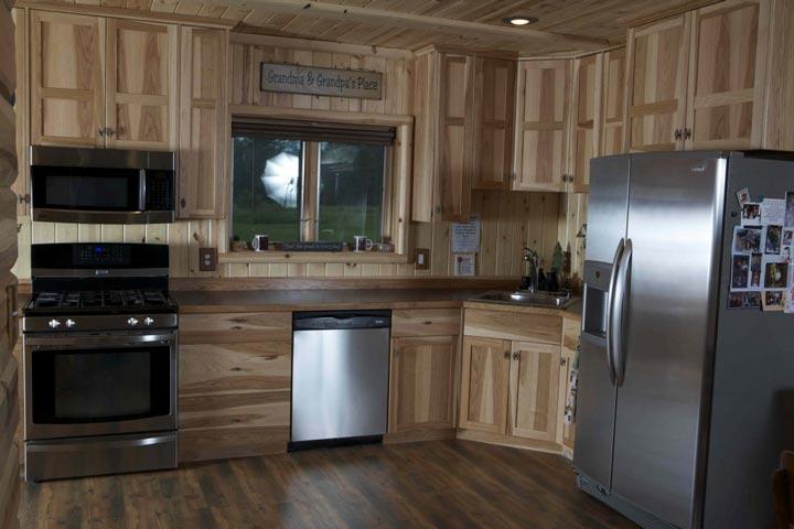 Quaint kitchen Space