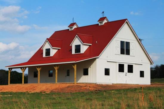 kodiak steel mueller barns plans floor prices modern metal barn homes pole house and kits oklahoma home free