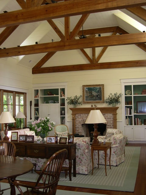 Matching overhead Beams and Floors.