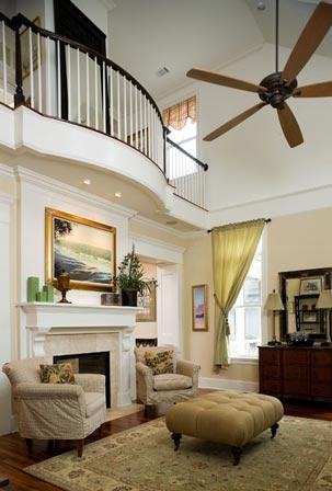 A stunning living room with elegant design