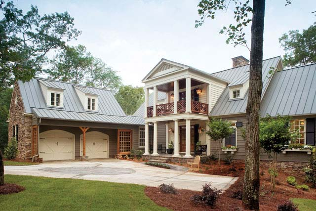 Beautiful traditional home w lovely interior hq plans Southern living builders