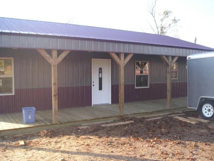 Real Story 1 440 Sq Feet Metal Pole Barn For Only