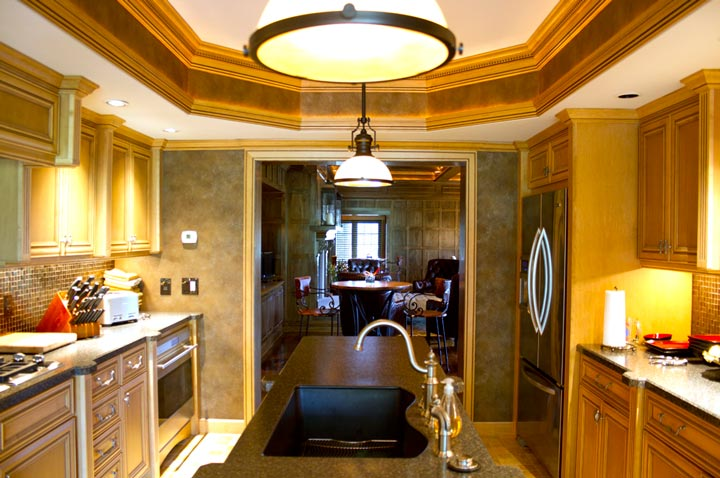 This is a grand, grand kitchen