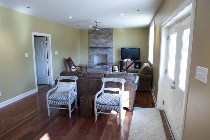 A posh living room area