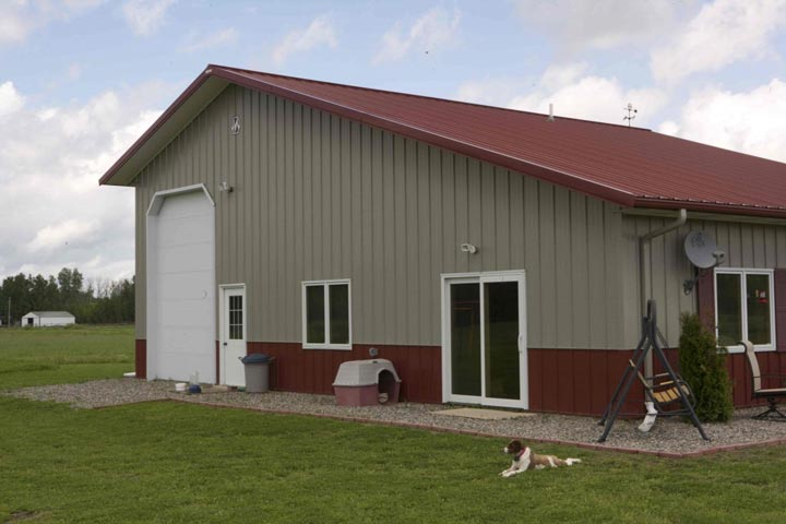 Fantastic Metal Building Home W Detached Garage 10 Hq