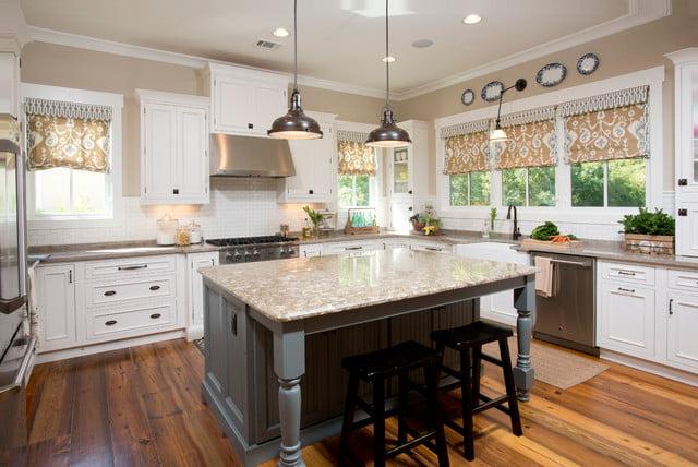 Ultra modern kitchen.