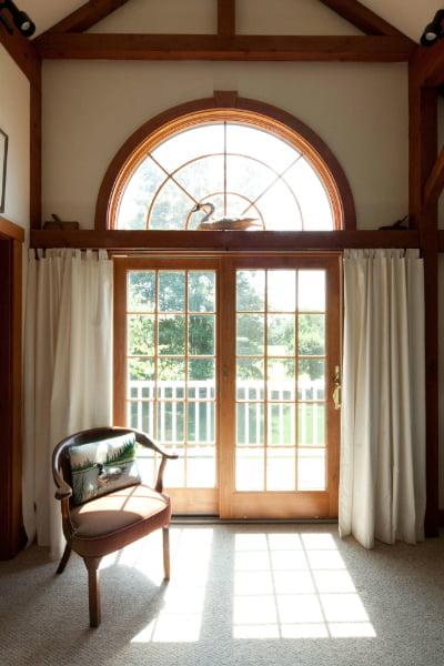 A sun-kissed interior