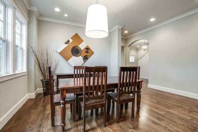 Matching dining furniture and diamond painting