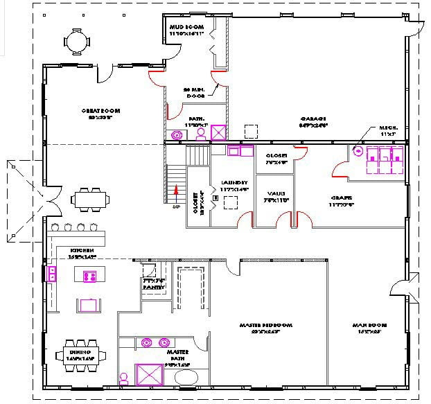 Morton Buildings Homes Floor Plans