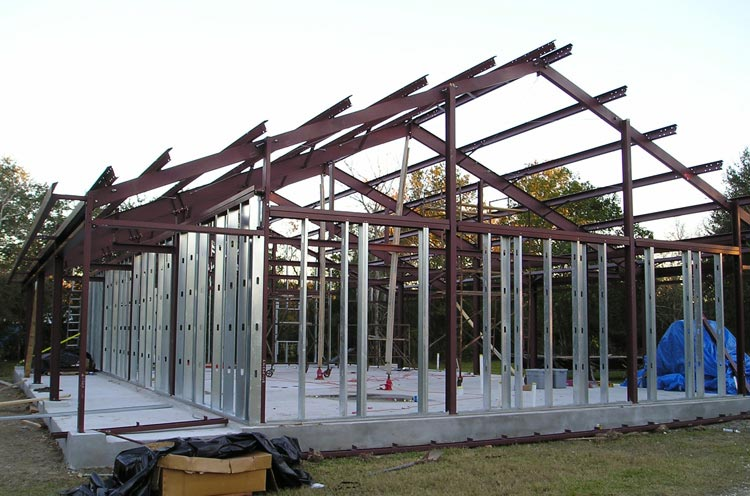 Perfect metal steel frame home w different layouts hq Steel frame homes