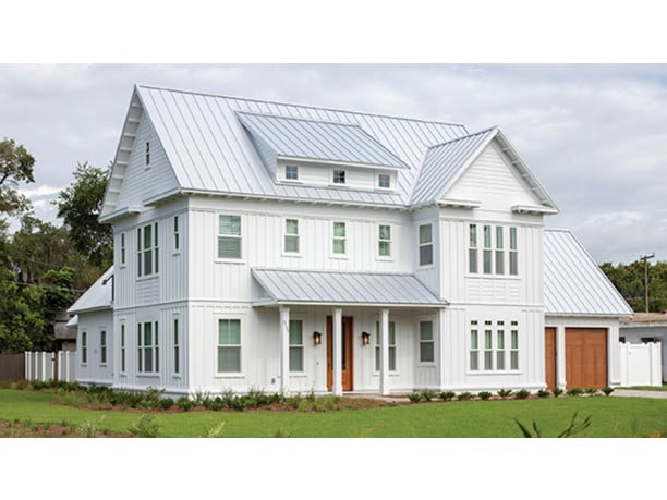 Awesome 2 story metal farm house hq plans 20 pictures for Two story metal building homes