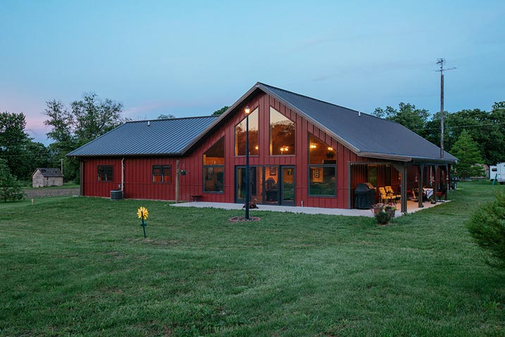 Very impressive metal building home hq pictures metal Building a house in oklahoma