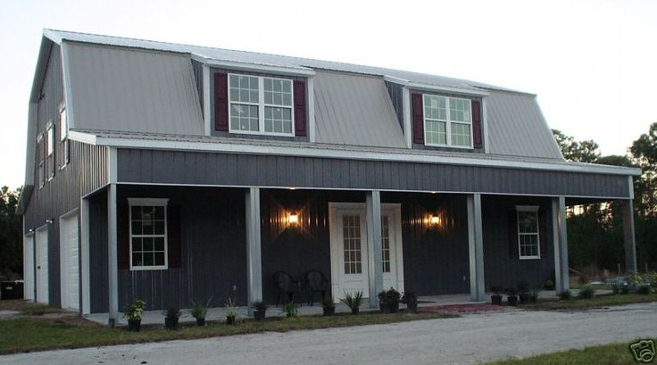 Steel metal home building kit of 3500 sq ft for 36 995 for Steel barn home kits