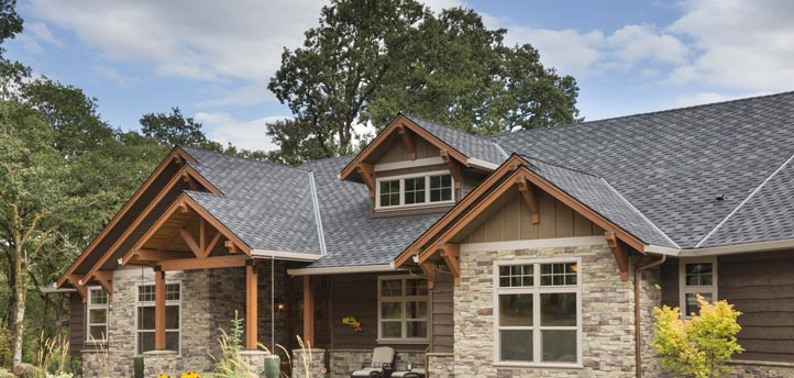 Jaw Dropping Mix of Ranch Craftsman Style Home HQ Plan