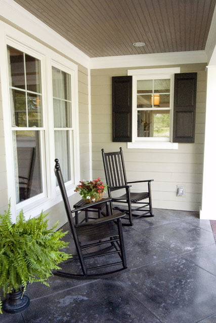 Guests would love this porch area