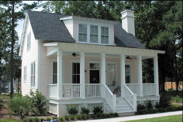 southern style country cottage house w sun room hq plans