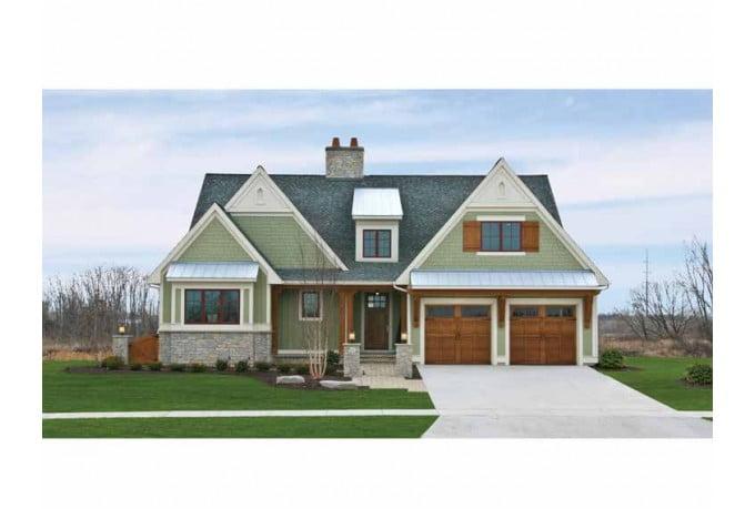Award winning model home w amazing interior hq plans for Award winning house plans 2015