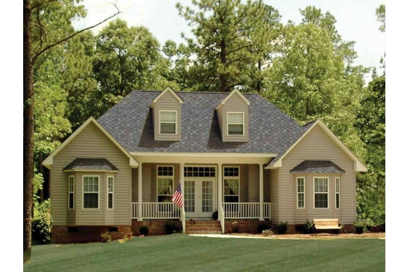 A starter home of 1 380 sq ft perfect for couple or for Perfect home plans