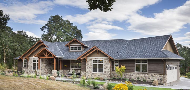 Jaw dropping mix of ranch craftsman style home hq plan for Ranch style steel homes