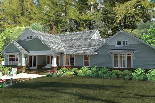 Wide open porch for outdoor activities