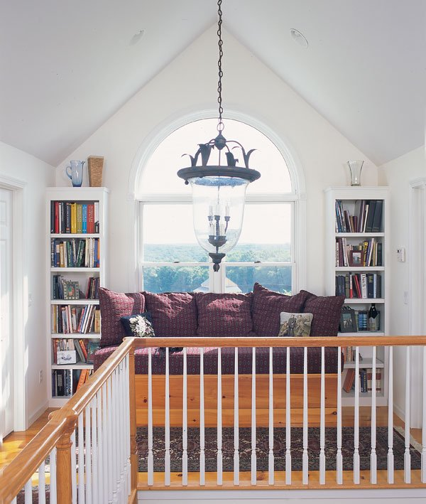 A perfect nook for reading