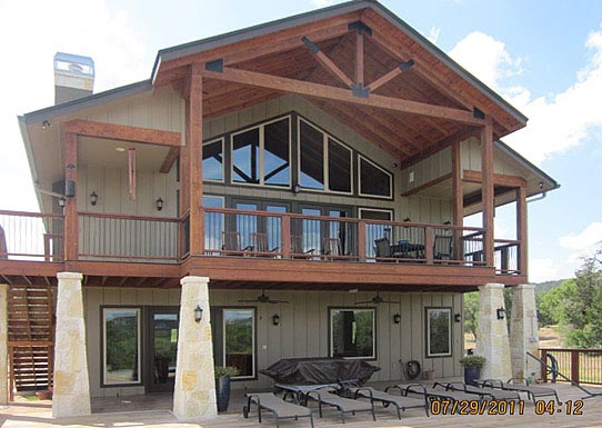 Metal building carriage house built in texas hq plans for Ready built homes floor plans