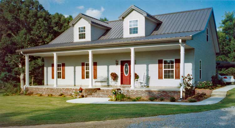 Wonderful Steel Frame Cottage House (15 HQ Pictures & Plans) - Metal on steel kit house plans, metal building homes house plans, pole barn style house plans, 40x50 metal house floor plans, metal pole barn house floor plans, timber frame home floor plans, duplex house plans, steel home plans,