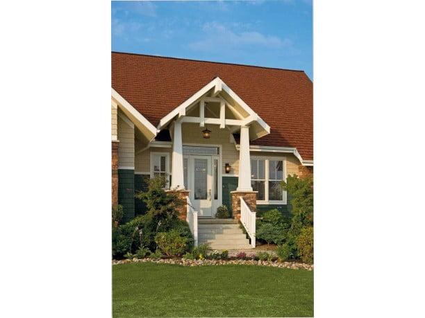 Award Winning American Home W Craftsman Details Hq Plans