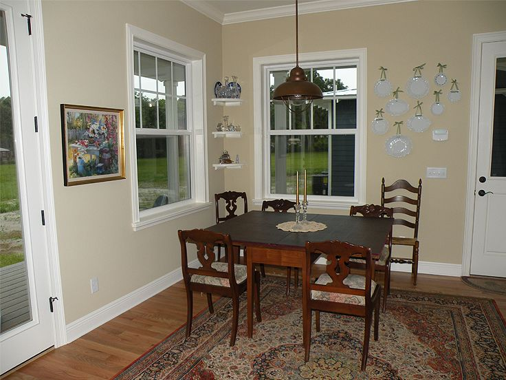 A spacious dining room is what every home needs.