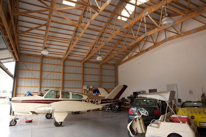 Aircraft hangar house design home design and style for Hangar home designs