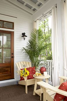An ultra-beautiful porch which says it all