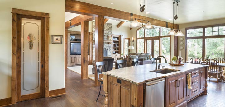 For food lovers out there, this is probably your dream kitchen.