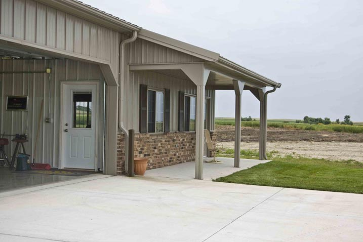 Metal Buildings Man Caves : Awesome metal man cave hobby garage for your pleasure hq