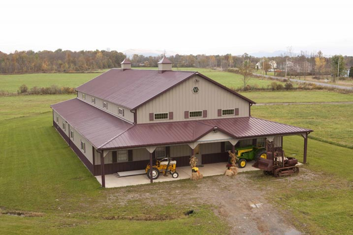 Fascinating 36 x 102 metal hobby building hq pictures for Hobby barn plans