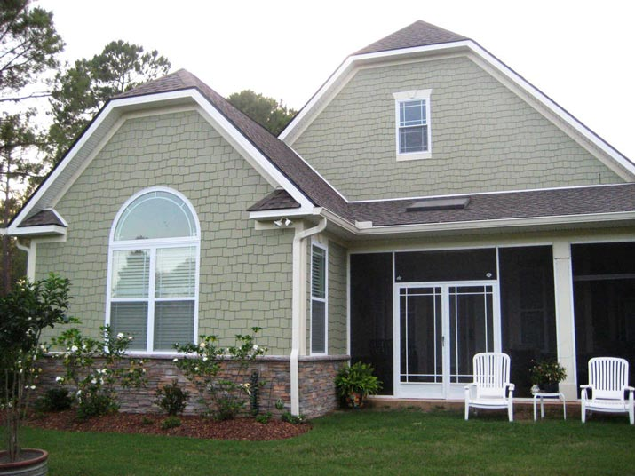Medium size 1 storey craftsman cottage home hq plans for Cottage construction plans