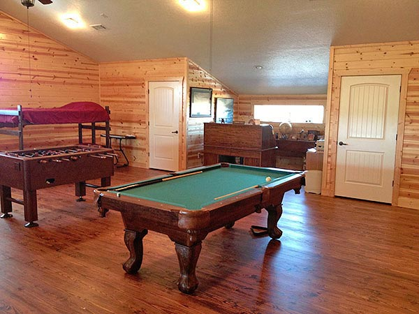 Barndominium Game Room